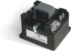 Аппарат контроля работы электродвигателей горных машин типа КОРД.У