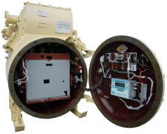 КРУ предназначено для приема и распределения электрической энергии напряжением 6 кВ частотой 50 Гц, для защиты сетей с изолированной нейтралью и управления подземными токоприемниками угольных шахт, опасных по газу и пыли. КРУ выполнено взрывонепроницаемым с искробезопасными цепями дистанционного управления, имеет взрывобезопасный уровень взрывозащиты и маркировку по взрывозащите РВ-4В Иа.