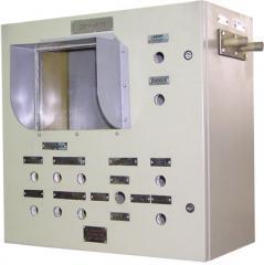 Пульт бурильщика взрывозащищенный для буровых установок с электрическим приводом типа ПБВ-ЭП1 (14097.04.009ТТ)