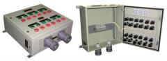 Пульт управления взрывозащищенный для буровых установок с дизельным приводом типа ПУВ-ДП