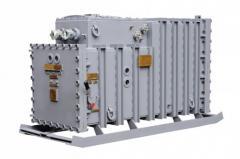 Установка конденсаторная рудничная высоковольтная типа УКРВ-6,3