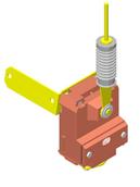 Аварийный выключатель ВД-3 220В (Датчик контроля схода ленты)